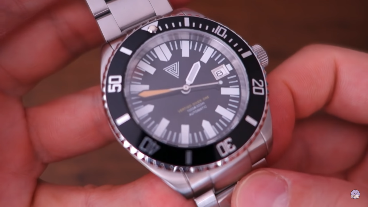 Vertigo Diver One V2 Black Automatic Dive Watch Review (ENGLISH)